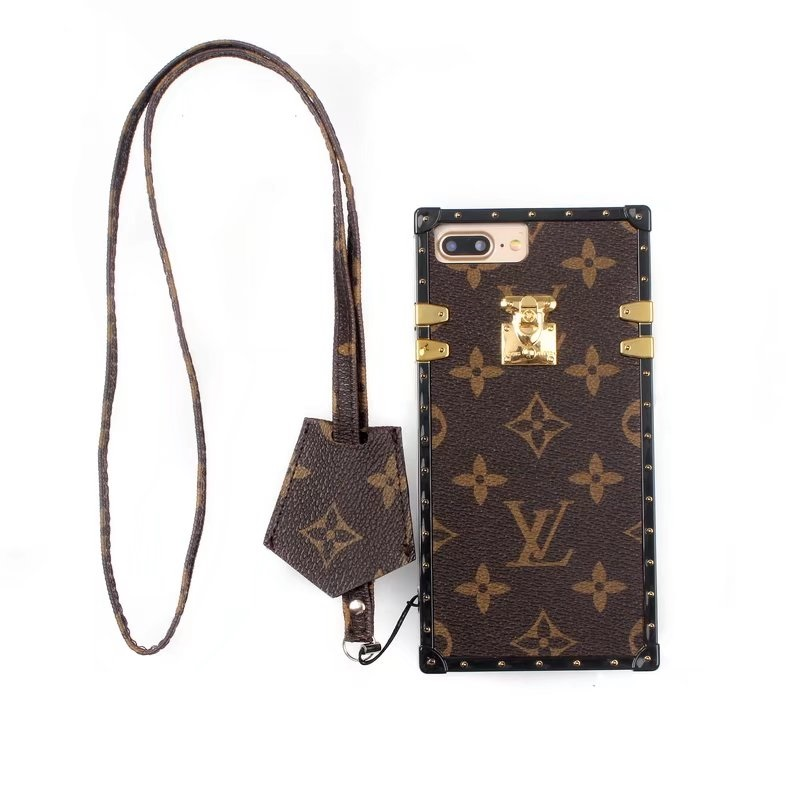 LV x Supreme iphone 7カバー 男女