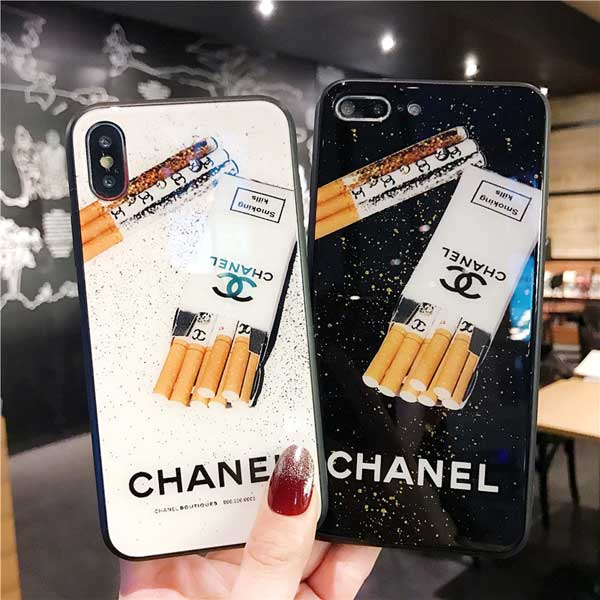 chanel iphone xr保護カバー