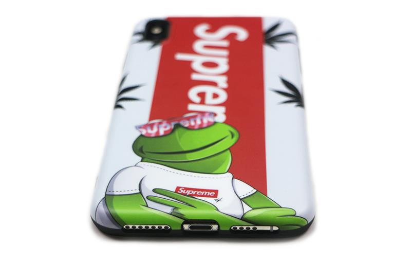 Supreme&Kermit iphone xs maxケース